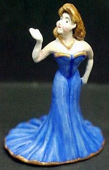 Miniature Bronze Figurine by Randall Zadar