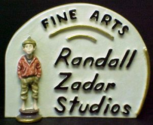 Studio Plaque by Randall Zadar